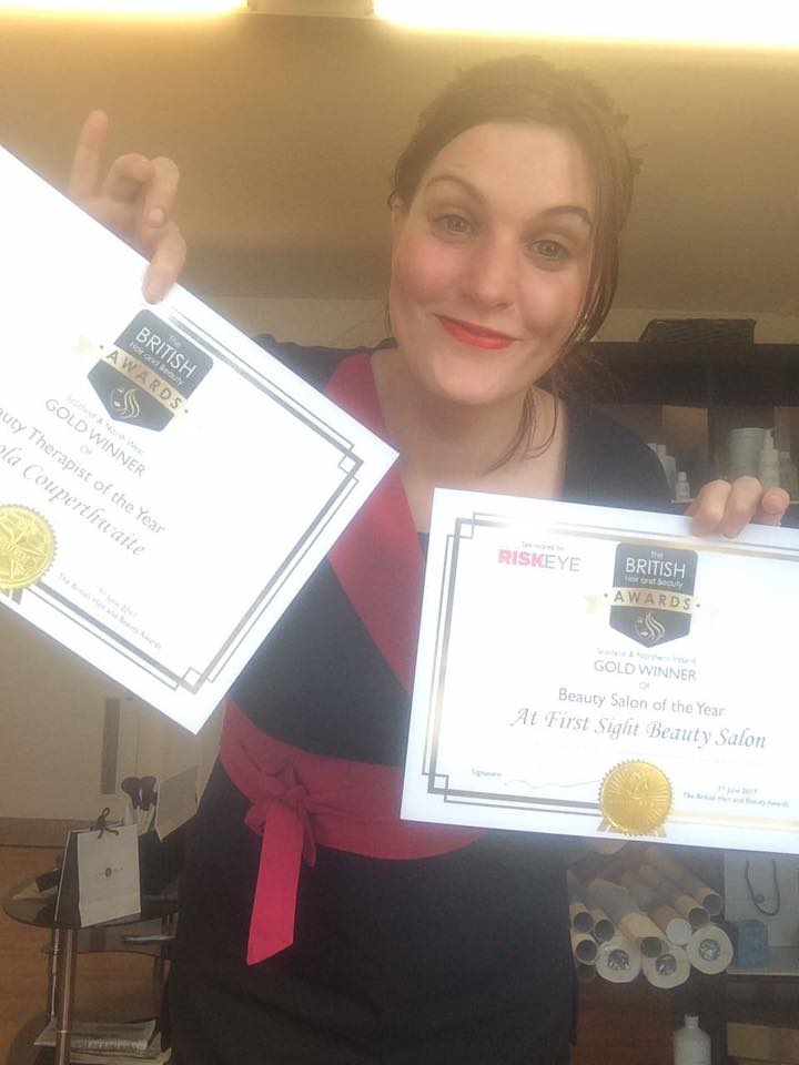 At First Sight Certificates held by Nicola
