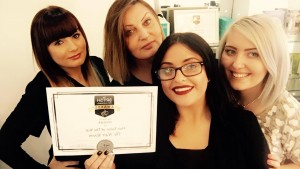 winners and finalists 2016 THE HAIR ROOM1